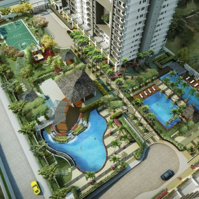 Flair Towers' Resort-Style Community Rises in the Middle of the Metro