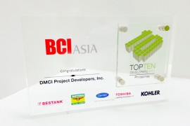 DMCI Homes receives BCI Asia Award for the 3rd time