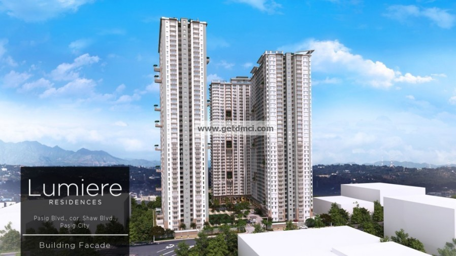 Lumiere Residences_DMCI Homes_Building facade